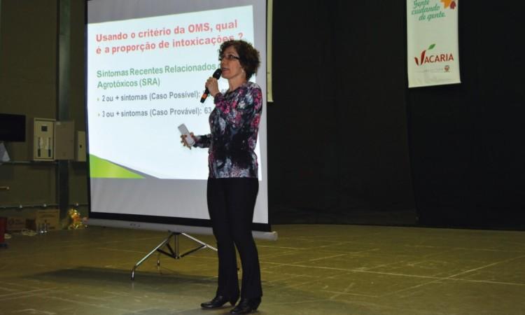 SEMINÁRIO DE SAÚDE DO TRABALHADOR DO CAMPO DIVULGA PESQUISA SOBRE O USO DE AGROTÓXICOS