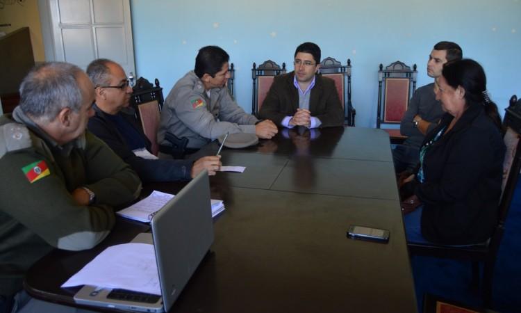 STR de Vacaria e Muitos Capões firma parceria com as forças de Segurança para diminuir ações criminosas no meio rural