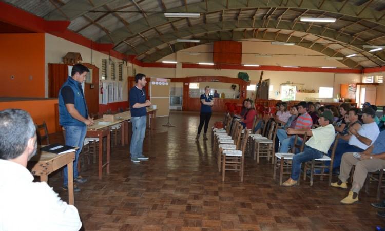 Roteiro de reuniões inicia no meio rural