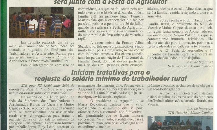 Festa do Agricultor e Encontro da Família Rural