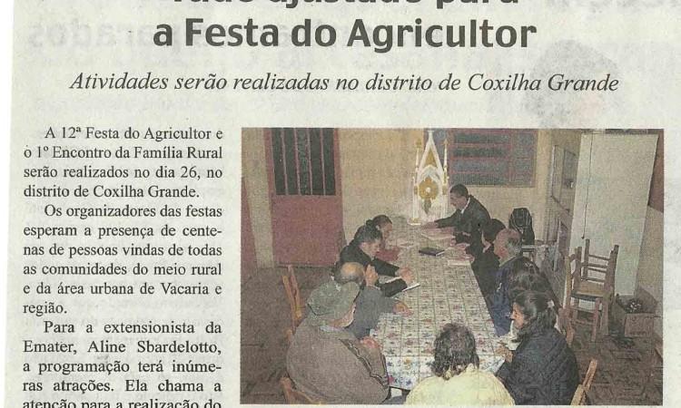 Reunião ajusta últimos detalhes para Festa do Agricultor