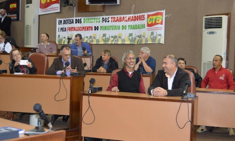ATO PÚBLICO CONTRA OS ATAQUES AOS DIREITOS DOS TRABALHADORES