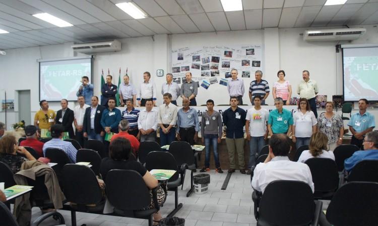 STR COMPÕE DIRETORIA DA FEDERAÇÃO DOS TRABALHADORES ASSALARIADOS RURAIS DO RIO GRANDE DO SUL – FETAR-RS