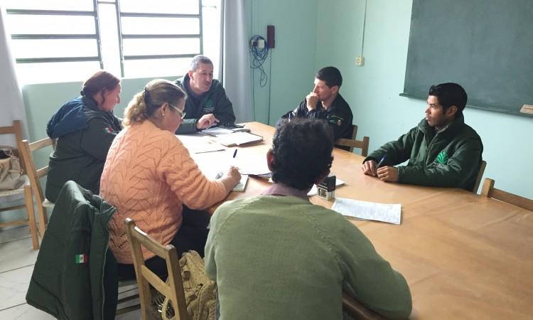 Diretoria e Conselho fiscal se reunem no STR