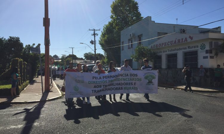 Movimento Sindical Rural é contra a reforma da Previdência Social