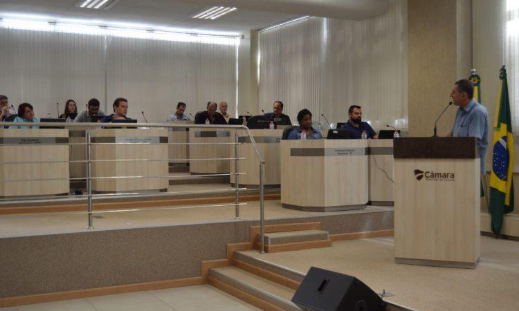 Presidente do STR de Vacaria utiliza a Tribuna Livre da Câmara de Vereadores