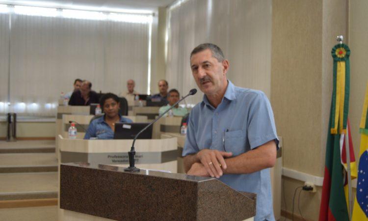 Na íntegra, discurso de Sérgio Poletto na Câmara de Vereadores