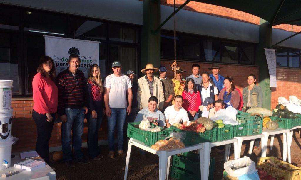 PRIMEIRA FEIRA DA AGRICULTURA FAMILIAR DE MUITOS CAPÕES