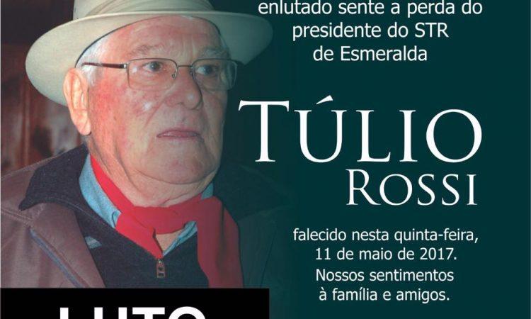 Morre o tradicionalista e sindicalista Túlio Rossi