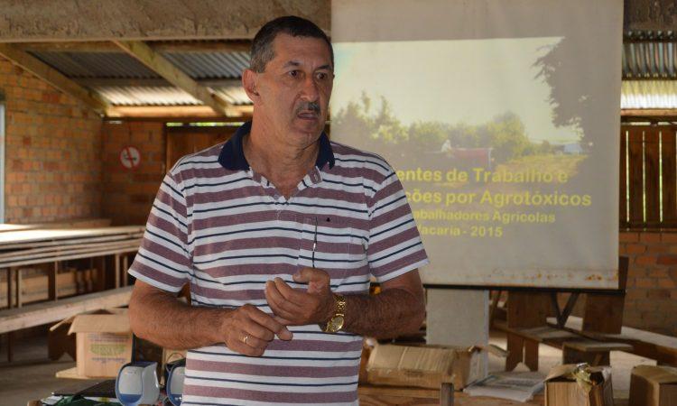 Reuniões no meio rural revela resultado de pesquisa sobre o uso de agrotóxicos