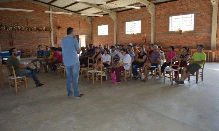 STR de Vacaria e Muitos Capões organiza roteiro de reuniões no meio rural