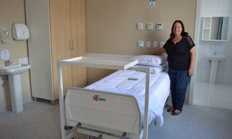 STR de Vacaria e Muitos Capões participa da reinauguração da ala SUS do Hospital Nossa Senhora da Oliveira