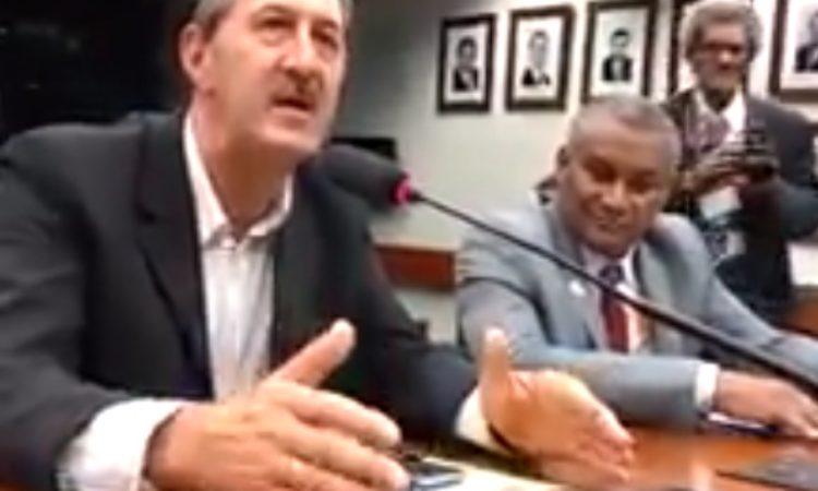 Em Brasília Presidente do STR de Vacaria e Muitos Capões se posiciona contra a Reforma da Previdência