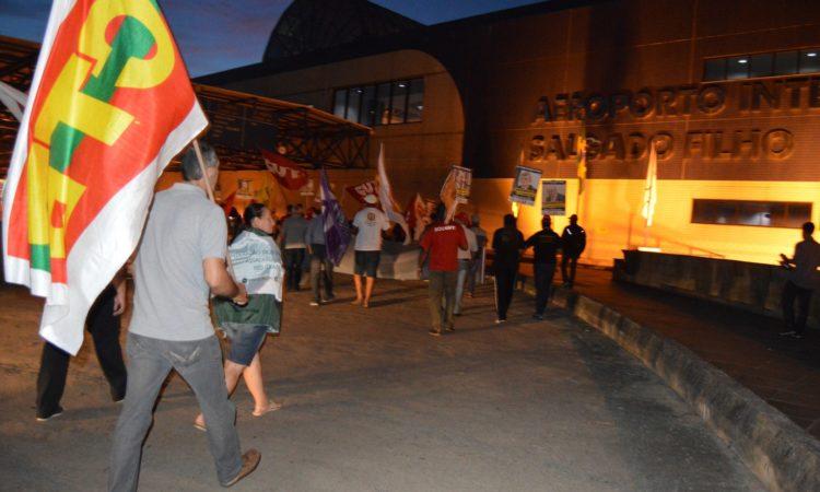 STR de Vacaria e Muitos Capões participa de manifestação contra a Reforma da Previdência em Porto Alegre