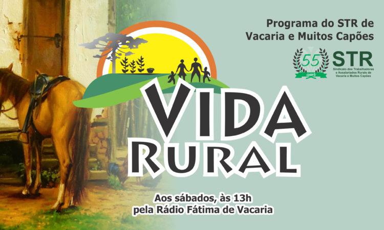 Programa Vida Rural, exibido dia 23 de março de 2018