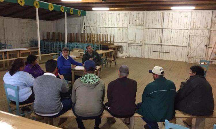 Comunidade do Capão Alto mobilizada para a Realização da 15ª Festa do Agricultor