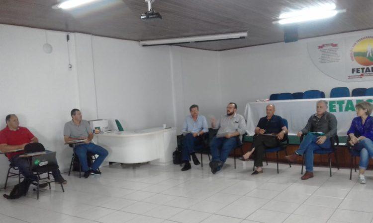 Presidente do STR de Vacaria e Muitos Capões participa de Encontro de Assalariados em Florianópolis SC