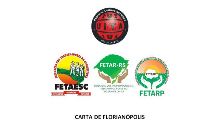 STR de Vacaria e Muitos Capões Participa da redação da Carta de Florianópolis