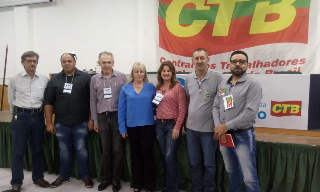 Direção da Fetar-RS participa do Seminário Jurídico da CTB