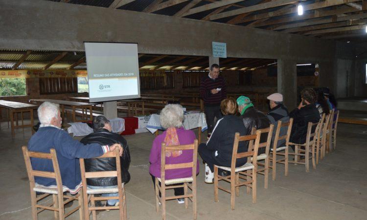 STR encerra roteiro de Reuniões no Meio Rural