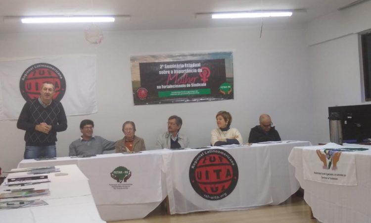Integrantes do STR de Vacaria e Muitos Capões participam de Seminário em Santana do Livramento