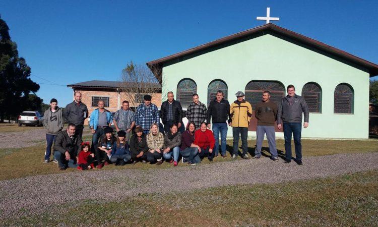 STR de Vacaria e Muitos Capões participa da 16ª Festa do Agricultor na Capela de Santa Luzia