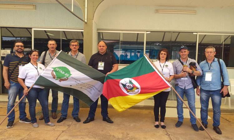 Delegação Gaúcha participa do II Congresso dos Trabalhadores Assalariados Rurais em Brasilia