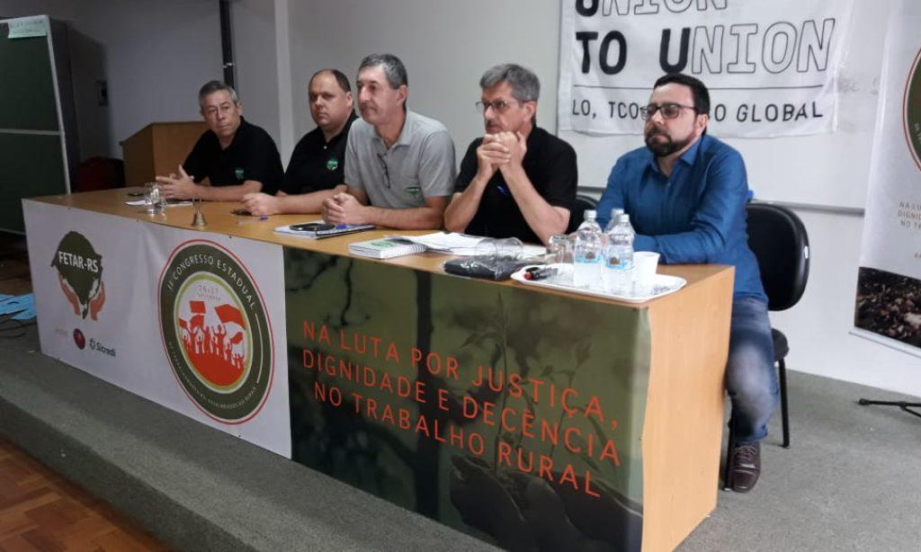 II CONGRESSO ESTADUAL DA FETAR APROVA DOCUMENTO BASE