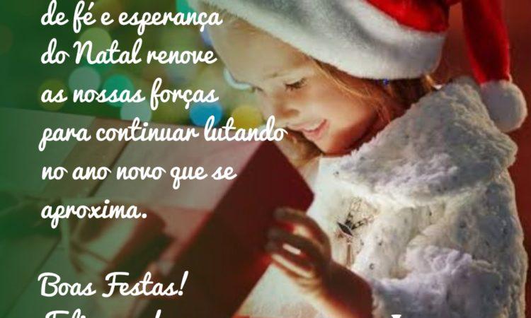 Feliz Natal são os votos do STR de Vacaria e Muitos Capões