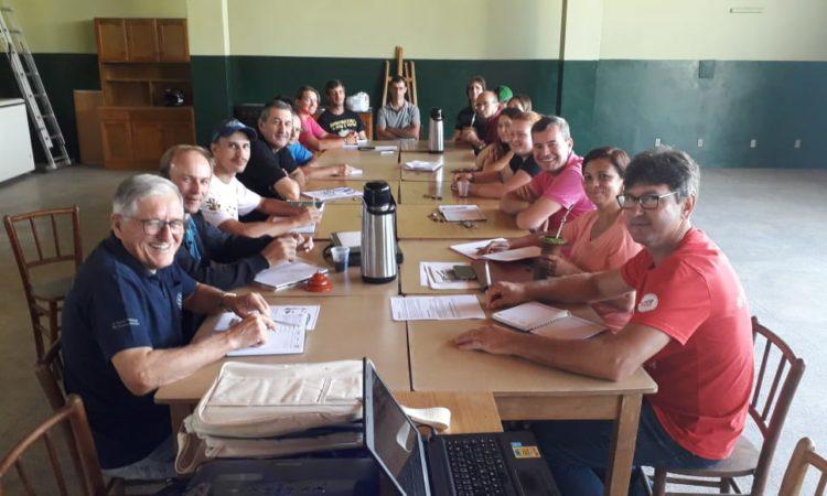 Presidente do STR de Vacaria e Muitos Capões participa de reunião da Regional Sindical em Taquara