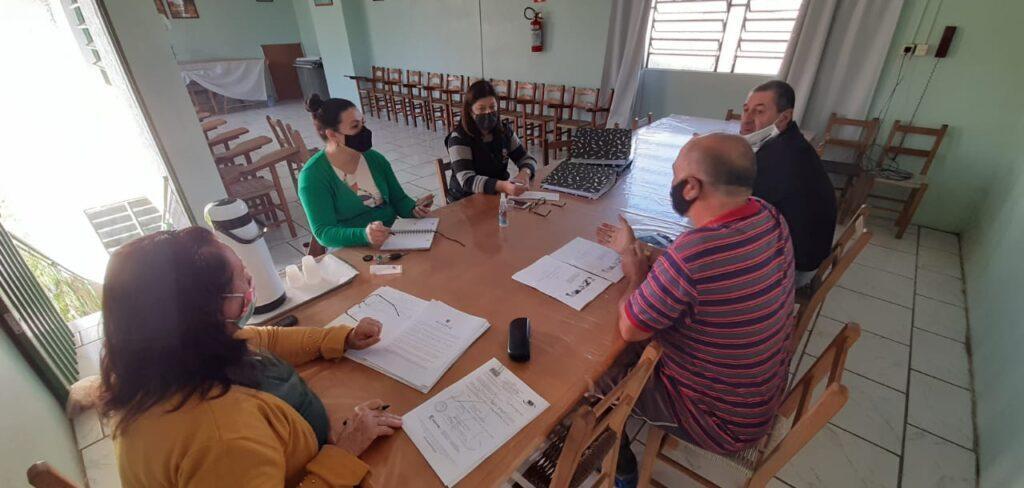 Núcle de Cordenação da saúde se reune no STR de Vacaria e Muitos Capões