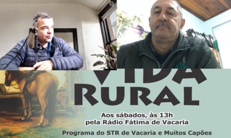 Programa Vida Rural deste sábado 15 de agosto