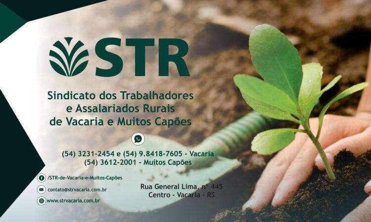 STR de Vacaria e Muitos Capões realiza Assembleia Geral Ordinária com prestação de Contas 2020