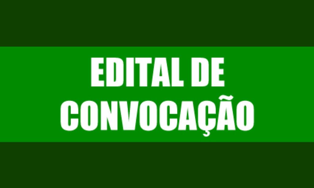 Edital de Convocação  ASSEMBLÉIA GERAL EXTRAORDINARIA