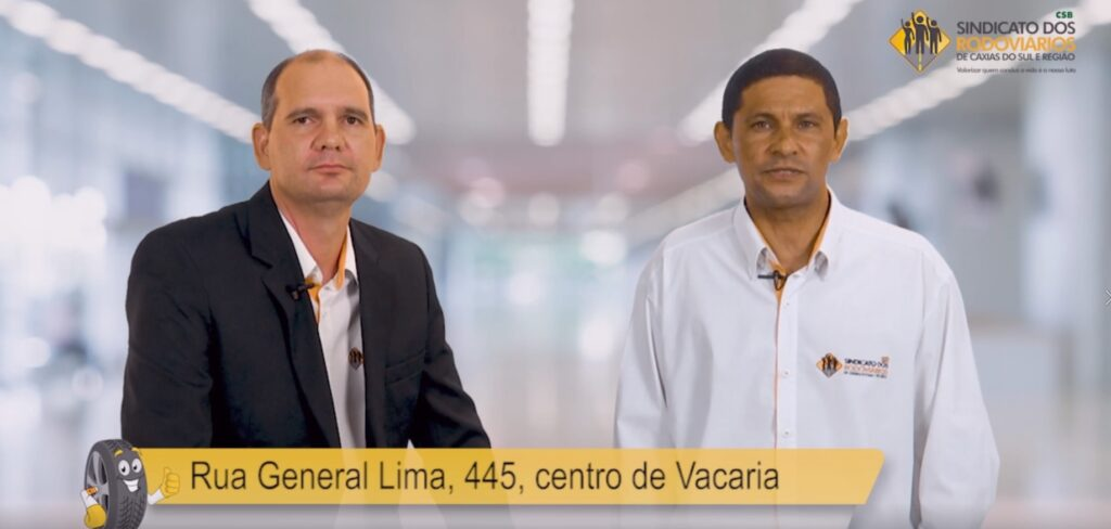 STR forma parceria com o Sindicato dos Rodoviários de Caxias do Sul