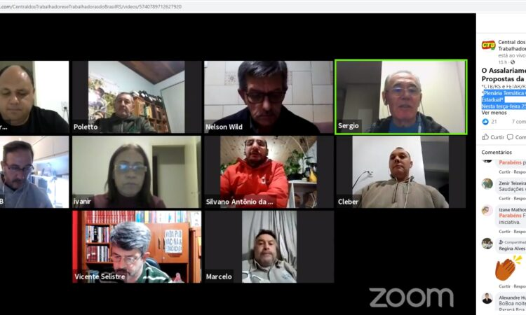 Poletto participa como Palestrante em evento online da CTB RS