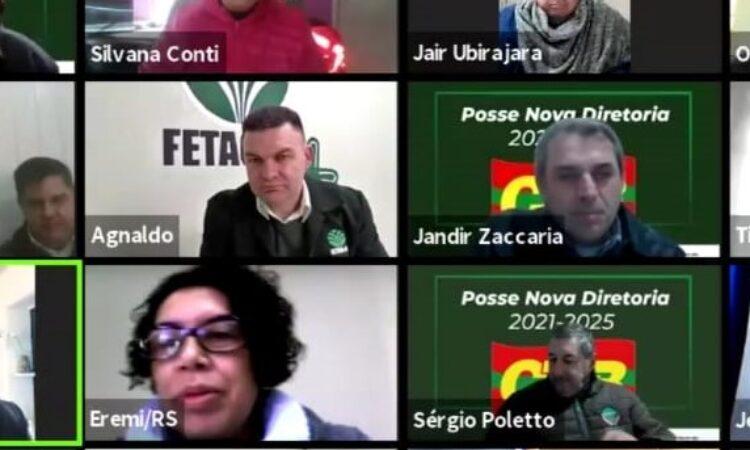 Sérgio Poletto é eleito Secretário de Politica Salarial Rural da CTB RS